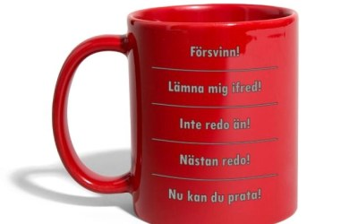 Kaffemugg – Olika stadier