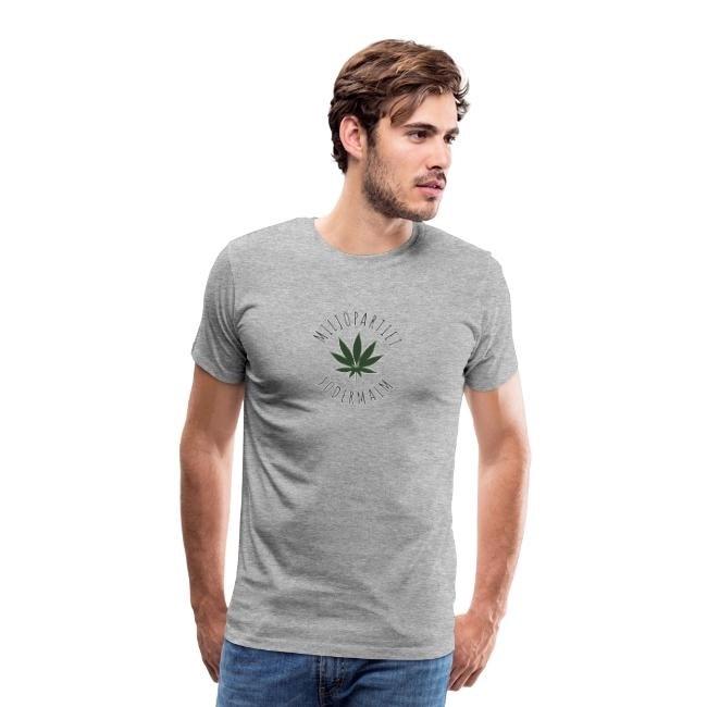 Miljöpartiet Södermalm Cannabis - Premium T-shirt herr