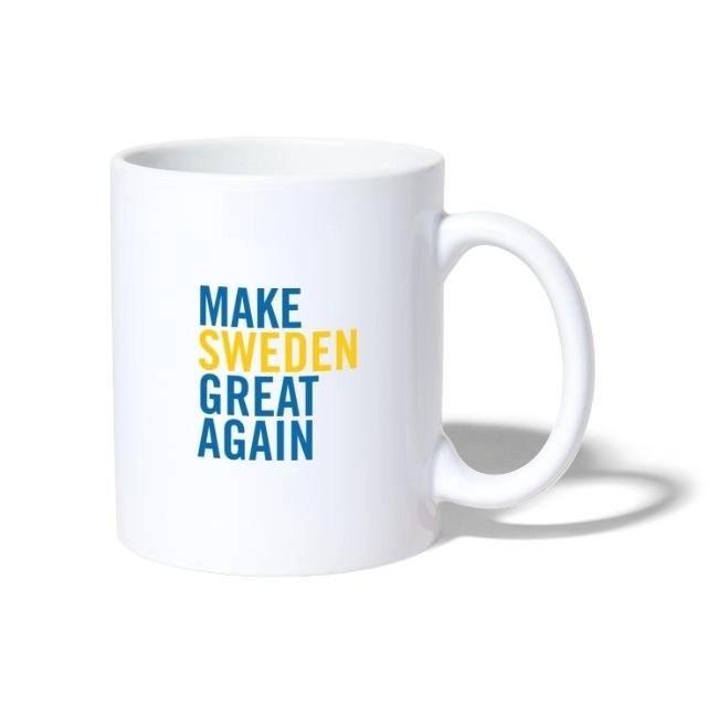 Make Sweden Great Again - Mugg