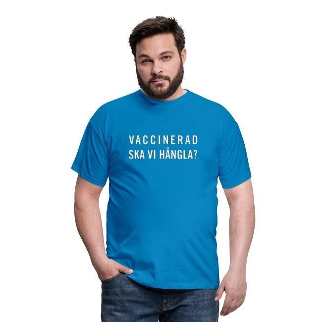 Vaccinerad - Ska vi hångla - T-shirt herr