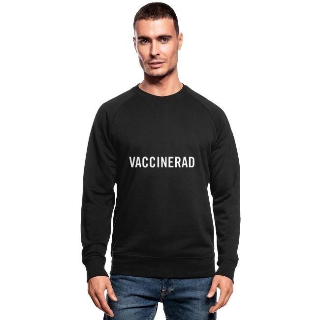 Vaccinerad - Ekologisk sweatshirt herr
