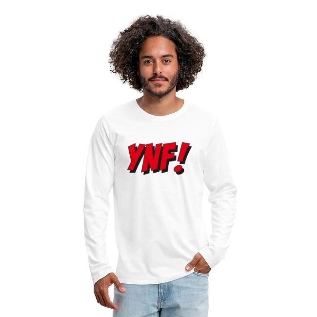 YNF! James Fjongs klassiska uttryck! - Långärmad premium T-shirt herr
