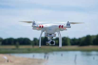 Drone ile Balık Avı
