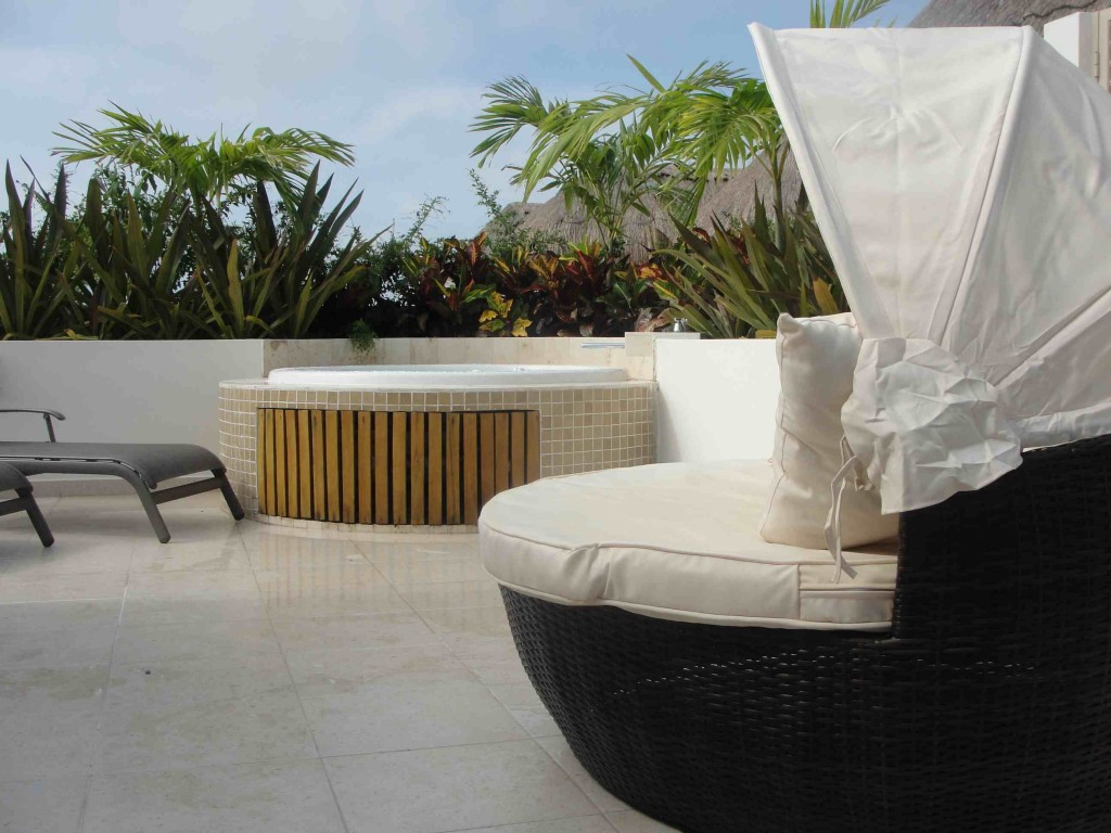 Sunbathing Chairs Balinese Chair Sunbathing Tulum Tulum Condo Rental