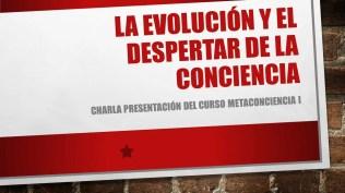 La evolución y el despertar de la conciencia