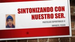 SINTONIZANDO CON NUESTRO SER