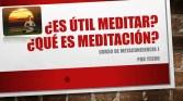 Meditacíon, qué es