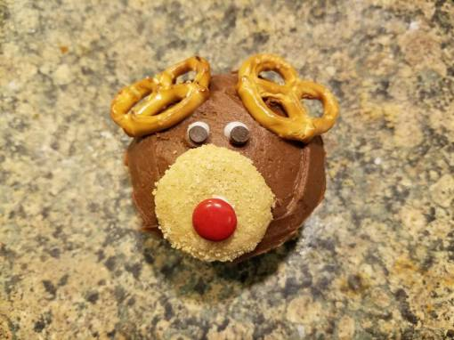 gluten dairy free reindeer cupcakes