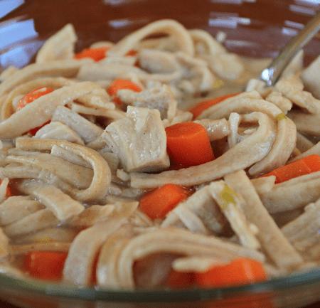Gluten free egg noodles
