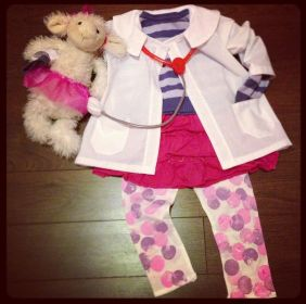 Doc McStuffins DIY costume