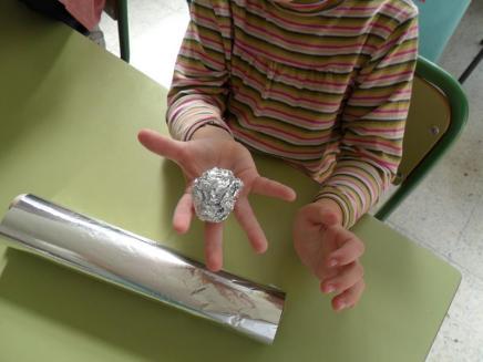 Bola de aluminio
