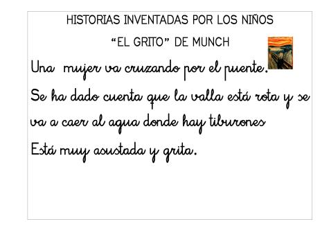 Historias inventadas. El grito de Munch 2