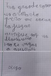 Poesía de Diego