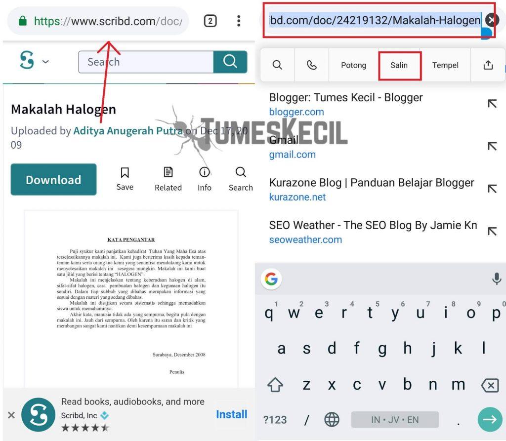 3 Cara Download File Di Scribd Gratis Tanpa Login Bayar