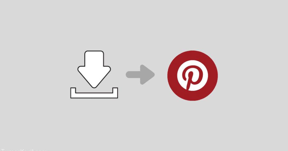 Cara Menyimpan Gambar dari Pinterest ke Galeri