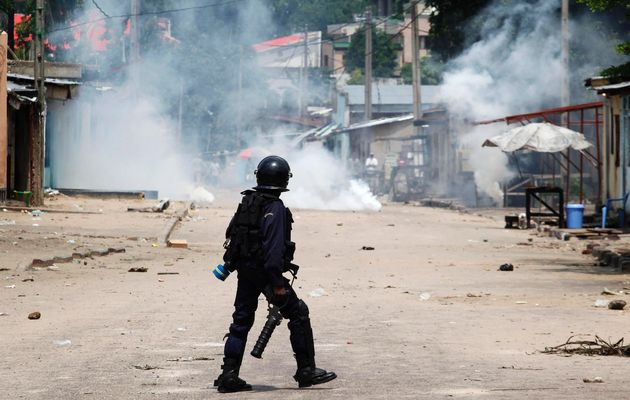 Violent Protests Erupt After Congo Polls