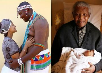 "SHAME: Nelson Mandela's Grandson Kicks Wife Out After DNA Test Reveals ""Son"" Is His Brother's"