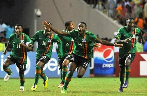Image result for zambia football team