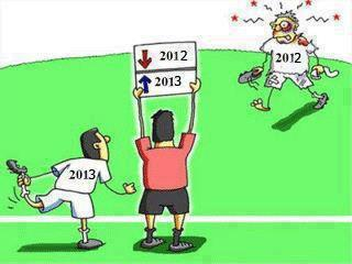 Image Of The Day: 2012 Out, 2013 In