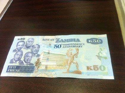 The New K50 NOTES Go Into Circulation