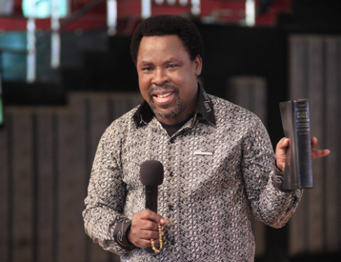 Synagogue Building Collapse : T B  Joshua Holds Memorial Service