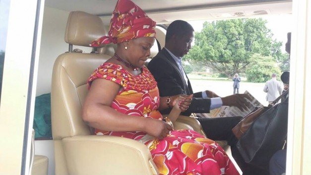 Chaile Encourages Lungu To Emulate Wife's Travel By Road
