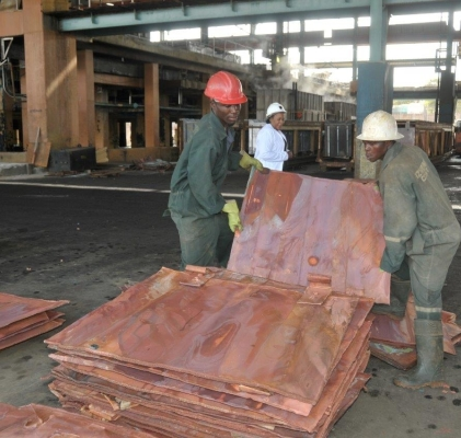 Copper Prices Drop