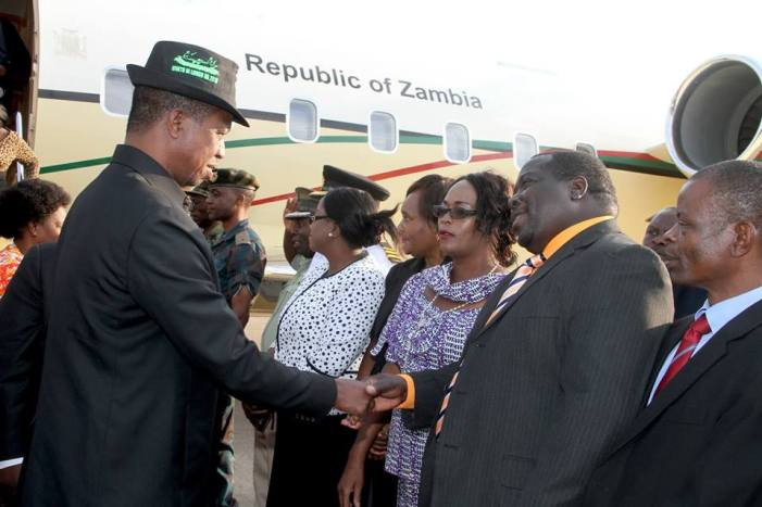 Lungu Says ACC Officers Complained to Him that Kambwili Is Vulgar