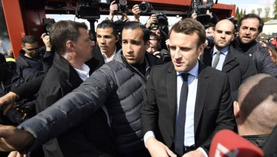 Macron: Europe Must Prevent 'Global Chaos'