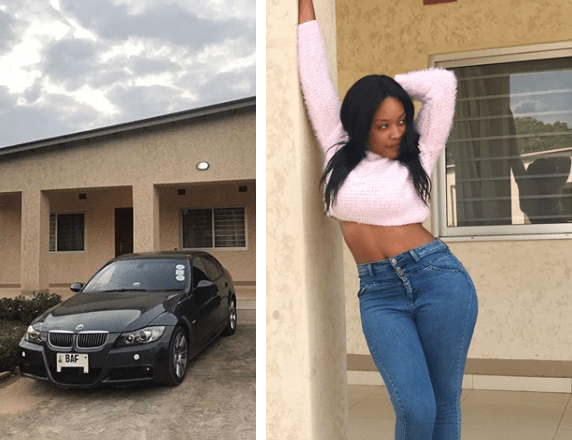 Socialite Iris Kaingu Acquires BMW 320 , 'I am Not A BMW Kinda Gal But I Love It'