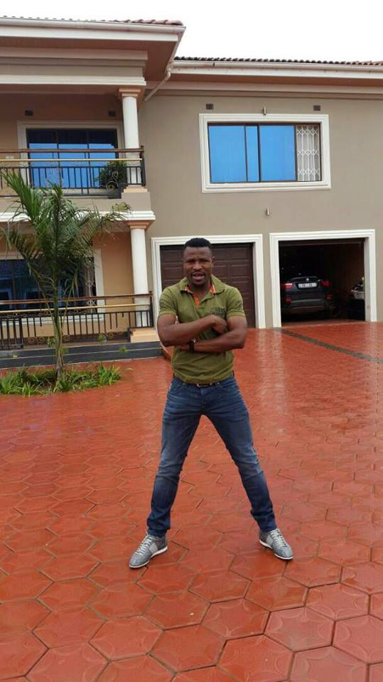 See Footballer Chris Katongo's Mansion