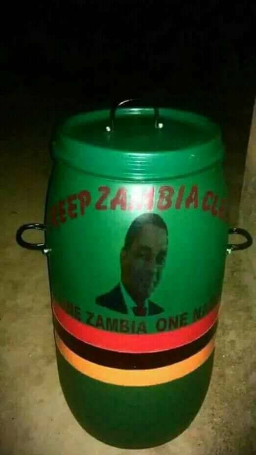 UPND: HH Has Not Donated The Campaign Dust Bins