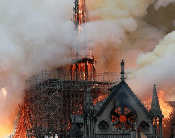 For first time in 200 years, there'll be no Christmas mass at Paris's Notre Dame Cathedral