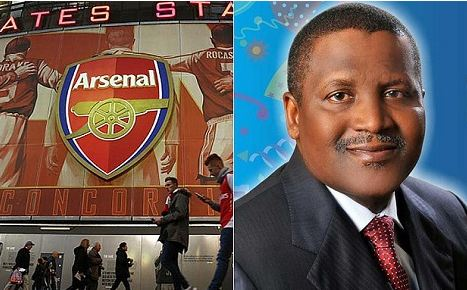 Aliko Dangote Once Again Declares His intention To Buy Arsenal Football Club