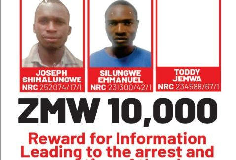 K10,000 Bounty On These Persons