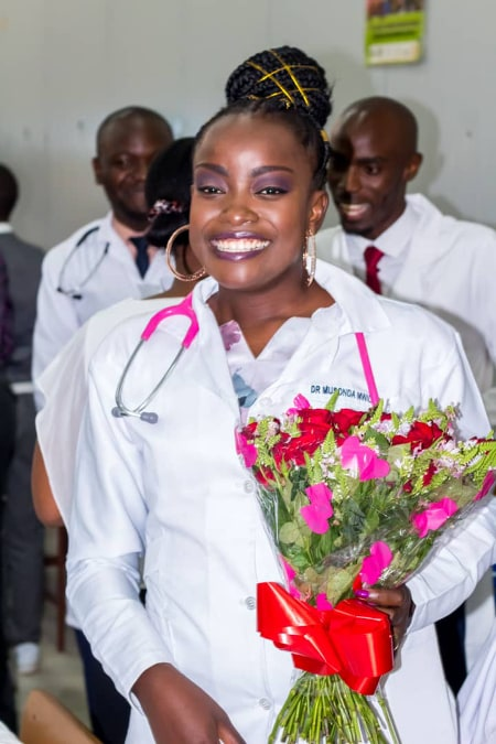 SICKLE CELL SURVIVOR BECOMES MEDICAL DOCTOR
