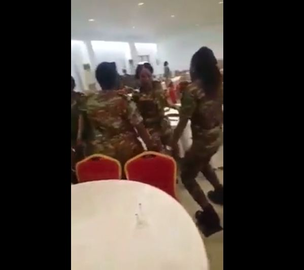 Must Watch: Female Soldiers Give Special Dance