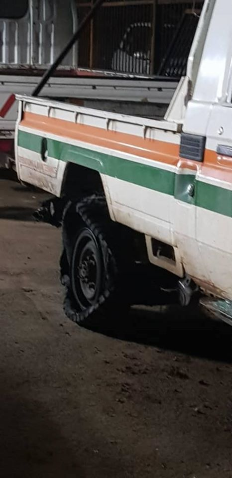 Locals Vandalise ZESCO Vehicle