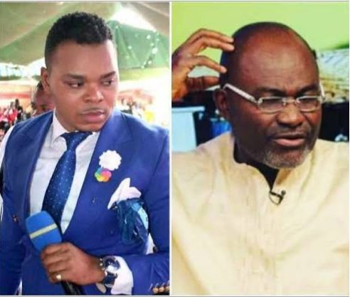 Ghanaian  minister accuses Bishop Obinim of sleeping with his junior pastor's wife;the reverend responds