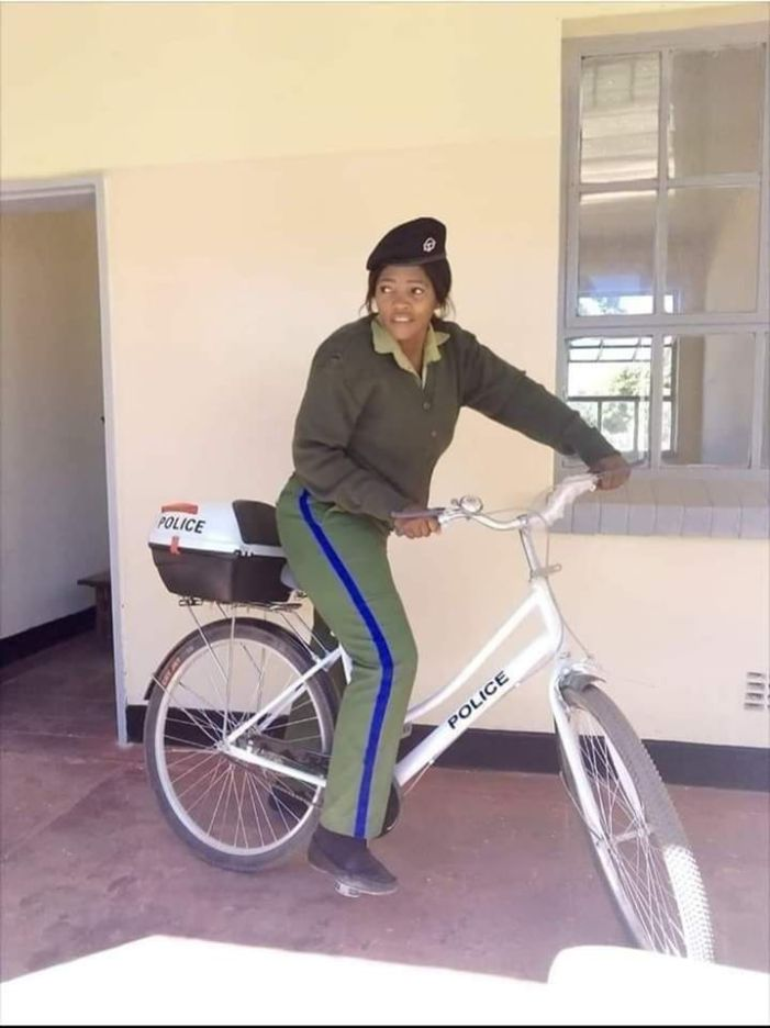 Contradiction: Minister of Home Affairs Says Police Bicycles Were Donated But Police IG  Says They Were Procured