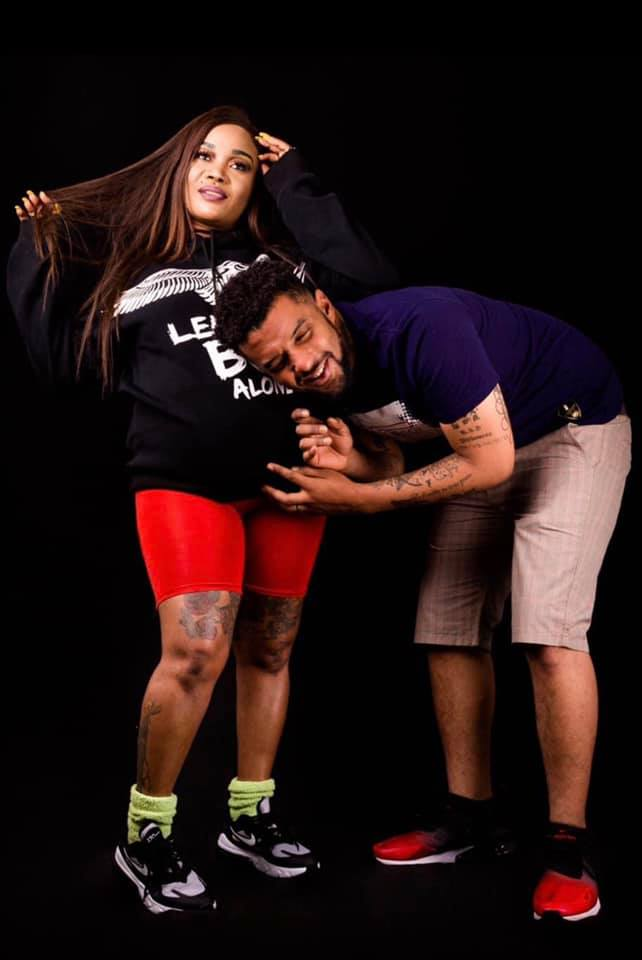 Milly Beauty & husband Showing off Baby Bump