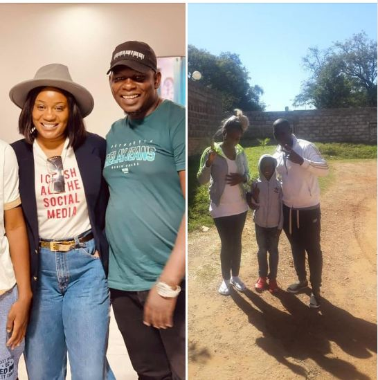 MEET MUTALE MWANZA'S EX-HUSBAND, THE FATHER TO HER SON MWAPE