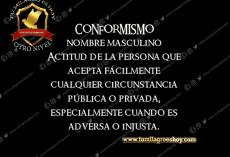 EL COMFORMISMO
