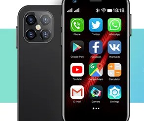 The Smallest 4G Smartphone in the World, Mony Mint