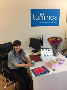Emma Gibb joins Tuminds Social Media