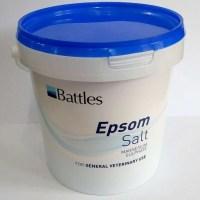 Battles Epsom salt