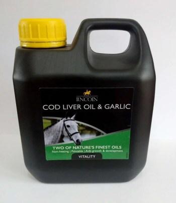 Lincoln Cod Liver and Garlic oil