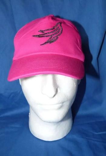Pink baseball cap