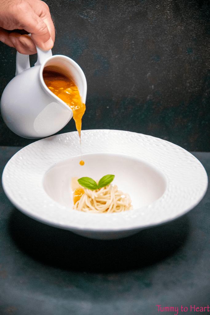 Mr. Ping's noodle soup