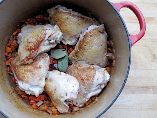 Weeknight Braised Chicken - Prep
